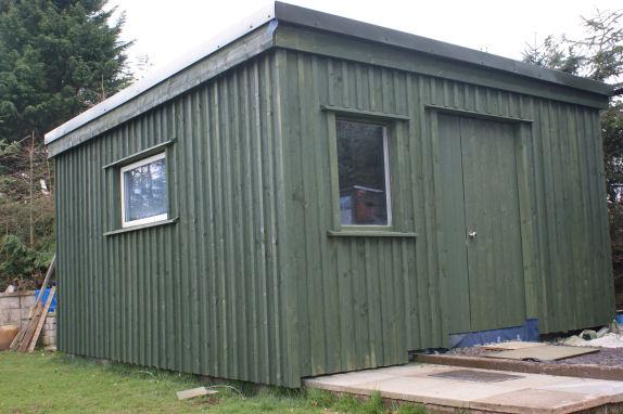 Timber Sheds Aberdeenshire Slp